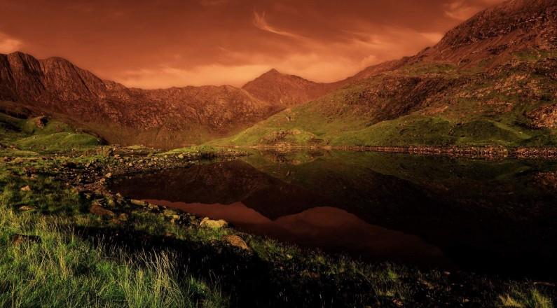 Mount Snowdon, Wales